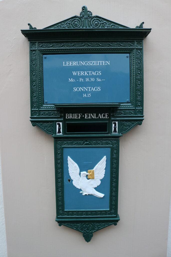 Briefkasten in Basel