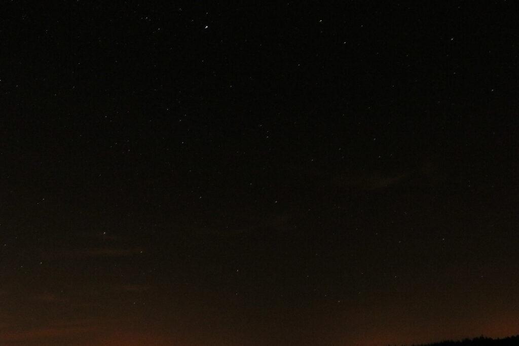 Sternenfotos mit Lichtverschmutzung